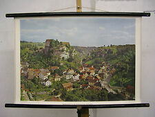 School Wall Mural Wall Picture pottenstein Franconian Switzerland Nuremberg Germany 75x51