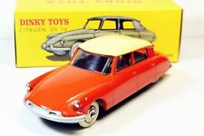 Dinky Toys 24C / CP - CITROEN DS 19 Orange toit Ivoire 1:43, Atlas