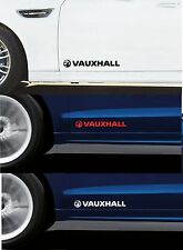 For VAUXHALL - 2 x DOOR -  CAR DECAL STICKER - CORSA ASTRA VECTRA 300mm long
