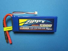 ZIPPY 5000mAh 2S 7.4V 40C LIPO BATTERY 5.5MM PROBOAT TRUCK BUGGY PLANE QUAD RC