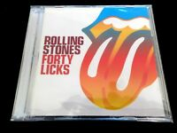 THE ROLLING STONES  -  FORTY LICKS  2 x CD  (BEST OF / GREATEST HITS )  EX / NM