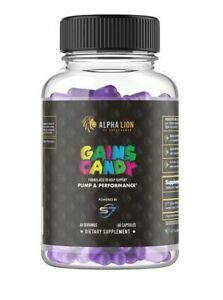 Alpha Lion Gains Candy - S7™ (60 Capsules)