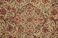 antique Kalamkari Indian textile paisley Persian Ghalamkar textile quilted quilt