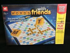 Words With Friends Board Game by Zynga - New Factory Sealed Hasbro Scrabble