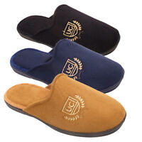 Mens Casual Lounge Bedroom Home House Comfort Slippers Shoes Size 7 8 9 10 11 12
