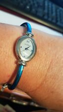 Le Chat Ladies Turquoise Strap Watch