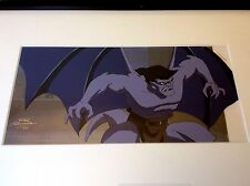 Gargoyles Pan production cel and background setup * Disney Goliath Sothebys