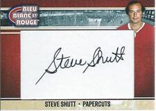 2018 President's Choice Bleu Blanc Rouge STEVE SHUTT Papercuts Autograph