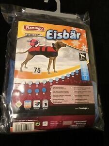 FLAMINGO EISBAR DOG COAT - WIND AND WATER RESISTANT - XL - NEW