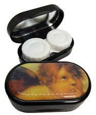 Classic Style Mirror Case Contact Lens Soaking Storage Case UK MADE - Cherub