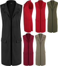 Plus Solid Coats & Jackets of Polyester for Women