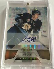 2011-12 Sidney Crosby Autograph 21/25 Certified Mirror Penguins Pittsburgh