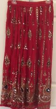 womam indian skirt one size brand new with tag