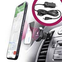 Auto Handyhalterung + KFZ Smartphone Ladekabel | Universal Halter Halterung