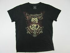 "Lucky Brand Hellkat Hell Kat Poker Club ""U Win Some U Lose Some"" T shirt large"