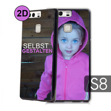 2D Samsung Galaxy S8 Hülle selbst gestalten mit Foto bedruckt Case Cover Bumper