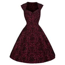 Midi Synthetic Dresses Retro