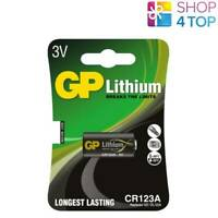 GP LITHIUM CR123A BREAKS THE LIMITS BATTERY 3V 123/DL123A CR17345 EXP 2028 NEW