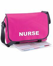 Nurse Pink Messenger Bag   Paramedic, Ambulance, Medic- FREE Delivery FREE Gift