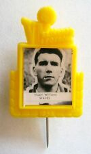 Vintage 1958 World Cup Pin Badge Stuart Williams Wales WBA West Brom Southampton
