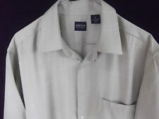 ARROW Mens Casual Pale Green Short sleeve shirt size M