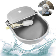 Auto Fill Water Trough Bowl Stock Automatic Drinking for Dog Horse Chicken 4l