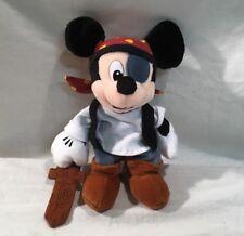Walt Disney Pirate Mickey Mouse Bean Bag Beanie NWT