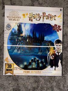 Harry Potter Prime 3D Puzzle 500 Piece Hogwarts Castle Brand New Sealed!