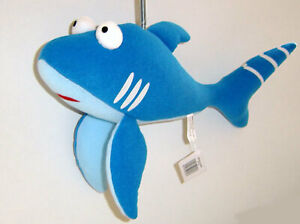 Springy Blue Shark Panopoly Animal Mobile distraction for babies & young childre