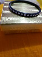 black Color with crystal stones Women bangle