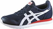 Asics Tiger Runner Sneaker Freizeitschuhe Schuhe Laufschuhe Blau Weiß Unisex NEU