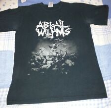 ABIGAIL WILLIAMS T SHIRT Black Cotton Adult Small Metal Used