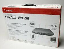 New Canon CanoScan Scanner LiDE 210 USB w/Stand Color Image Flatbed Portable