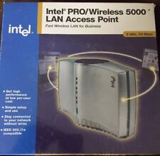 SEALED Intel PRO/Wireless 5000 LAN Starter Kit, 5 GHz 54 Mbps - BRAND NEW