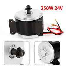 250w Electric Brush Dc Motor 24v Permanent Magnet For Scooter Bike Quad Go Kart