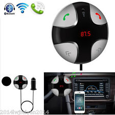 Wireless Bluetooth FM Transmitter MP3 Player Car Kit Hands-free Calling Speaker