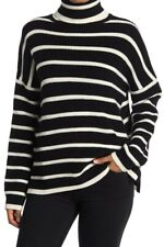 $295 NEW La Ligne Marin Stripe Turtleneck Sweater Sz M vince netaporter