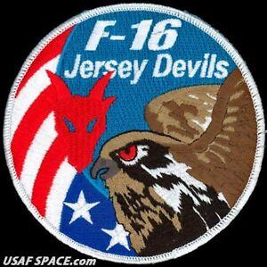 USAF 119TH FIGHTER SQ - F-16 JERSEY DEVILS -Myrtle Beach AFB, SC- ORIGINAL PATCH