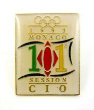 101th Olympic Session IOC Monaco 1993 Pin Badge Rare