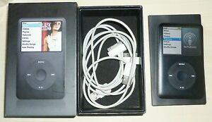 Apple iPod Classic 160GB Model A1238 6th Generation - Black GWO