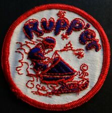 """VINTAGE RUPP SNOWMOBILE PATCH ABOUT 3"""" X 3""""  NEW"""