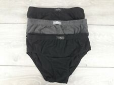 3 x Lee Cooper Kids Boys Briefs Pants  Underwear Black Grey 13 yrs R363-3