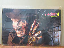 Vintage A Nightmare on Elm Street 4 Dream master movie poster 5148