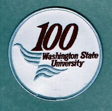 Washington State Cougars 100th Anniversity Authentic Football Jersey Patch