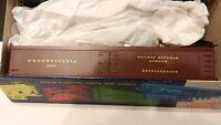 Roundhouse MDC Bev Bel HO  50'  Old Time Express Reefer Kit, PRR. NIB Ltd Ed