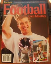 Beckett Football Magazine Monthly Price Guide John Elway March 1999