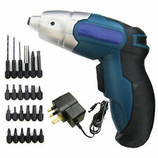 4.8V 24Pc Rechargeable Cordless Electric Screwdriver Power Bit Set Kit Screw