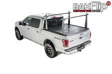 BAK Truck Bed Cover - BAKFlip CS Hard Folding Tonneau Cover with Integrated Rack
