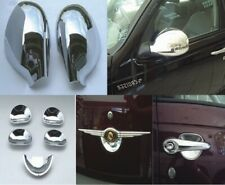 PT CRUISER CHROME MIRROR COVERS + DOOR HANDLE CUPS 2001-10 (folding mirror only)