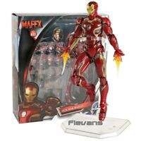 MAFEX NO.022 Iron Man Mark MK 45 PVC Action Figure Collectible Model Toy